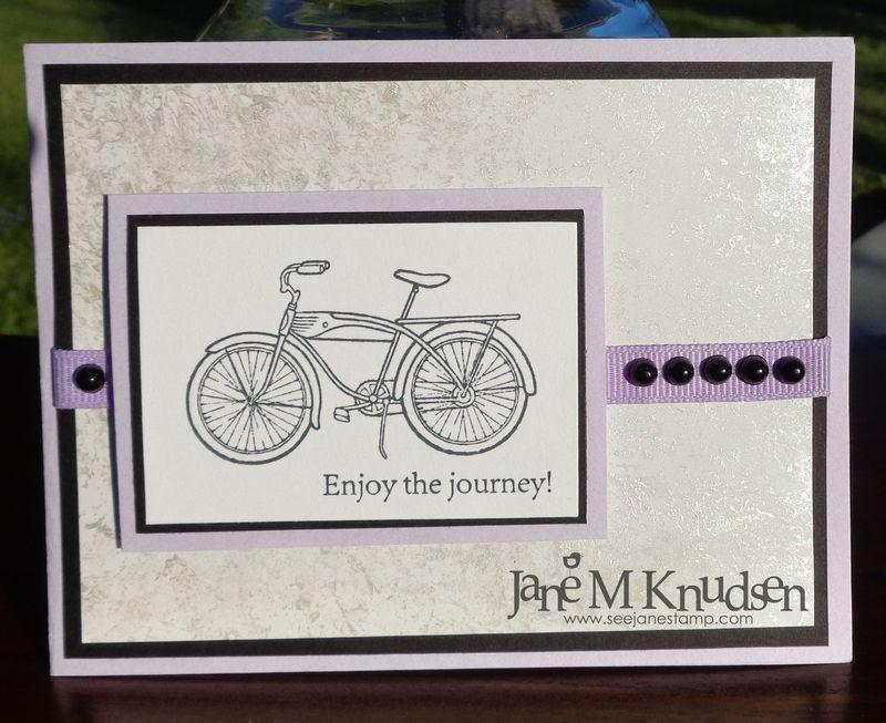 Seejanestamp.com pedaling past
