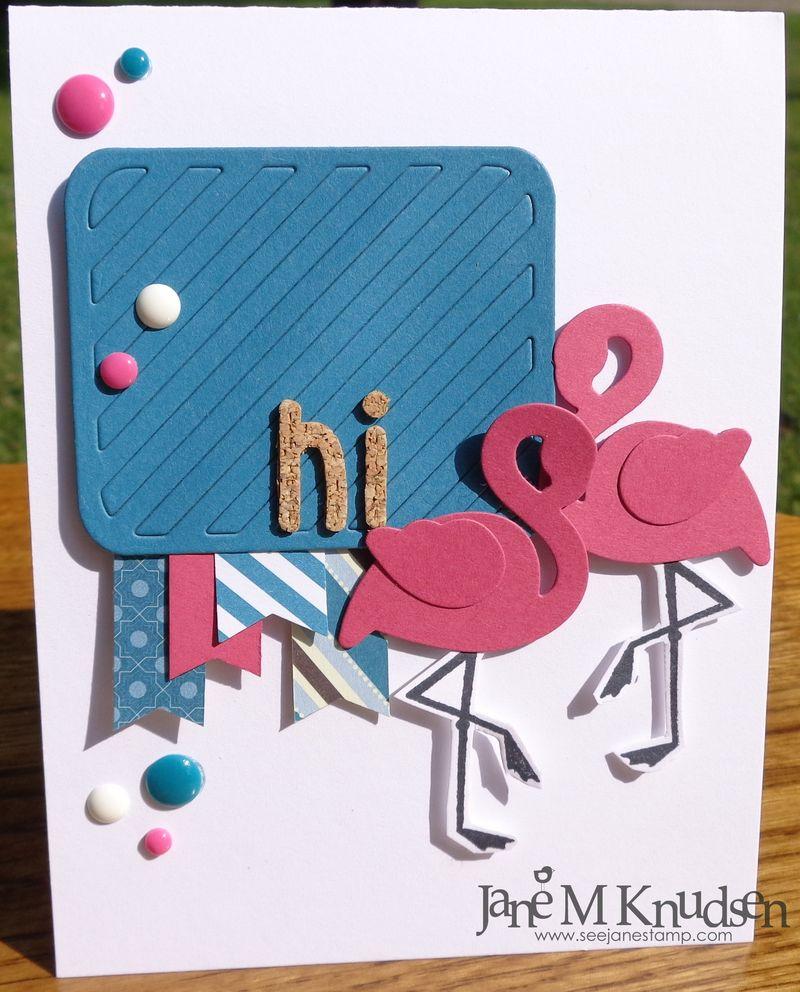 Seejanestamp.com flamingos