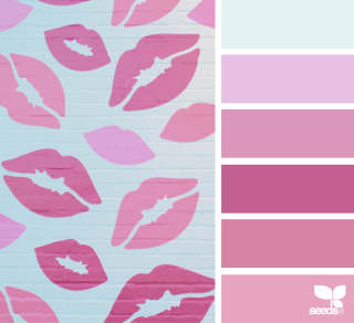 February Valentine background colors