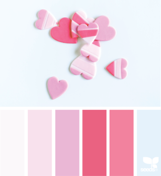 February Love theme or colors