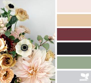 April CAS Floral corner colors